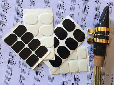8pcs New 0.3/0.5/0.8mm Soprano Saxophone Sax Mouthpiece Patches Pads Cushions