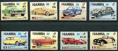 Gambia 1986 Ameripex. Centenary of First Benz Motor Car MNH