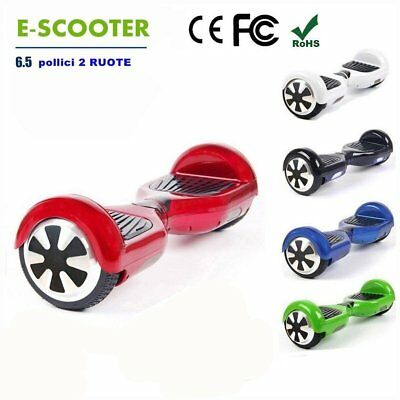 """6.5"""" Gyropode Hoverboard Overboard Skate double roue Scooter électrique Neuf IH"""