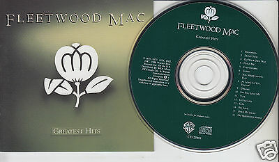 FLEETWOOD MAC Greatest Hits (CD 1988) Best of 16 Songs Rock