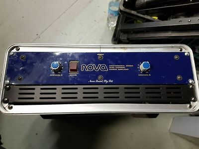 NOVA SOUND 400H Power Amplifier