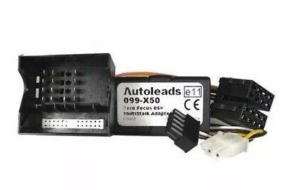 Autoleads Ford Focus C Max Mondeo Multi Stalk Adaptor Pc99-X50 Wiring Lead (1)