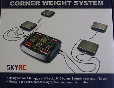SkyRC Corner Weight System Front & Rear Distribution 1/8, 1/10 1/12 RC Cars