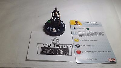 Heroclix Civil War #019 Silhouette