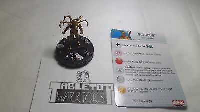 Heroclix Civil War #035 Goldbug