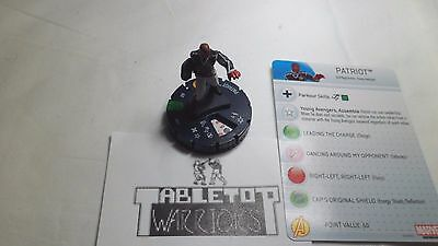 Heroclix Civil War #021 Patriot