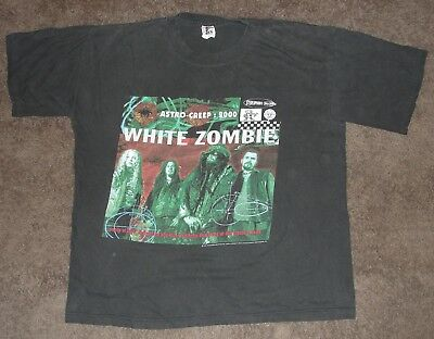 1995 White Zombie Astro-Creep: 2000 Concert Tour Shirt XL Vintage Rob Zombie