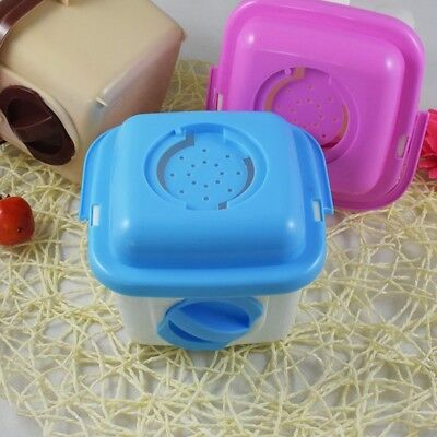 Hot Small Animals Carrier Breathable Hamster Outer Cage Pets Outdoor Accessory