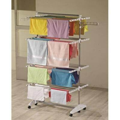 One Click luxus clothes dryer E4 Clothes tower with 4 levels drying rack