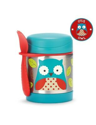 Skip Hop Baby Zoo Little Kid Insulated Food Jar & Spork Set FAST SHIP FROM STORE