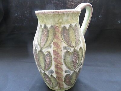 Bourne Denby Ware Large Jug With Handle by Glyn Colledge Stoneware
