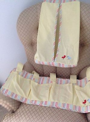 Beautiful MOTHERCARE Baby cot tidy and nappy stacker perfect for your nursery