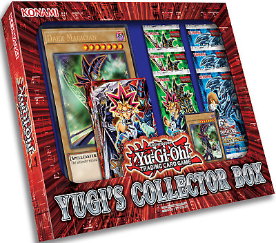 YUGIOH YUGI'S COLLECTOR BOX NEW FACTORY SEALED (PRESALE 9/15/17) (6 Boosters)