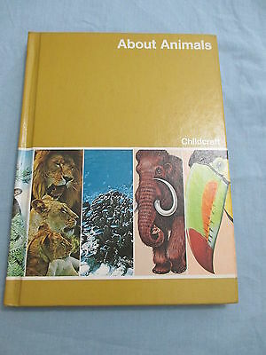 Childcraft How and Why Library Book 5 1980 About Animals Encyclopedia