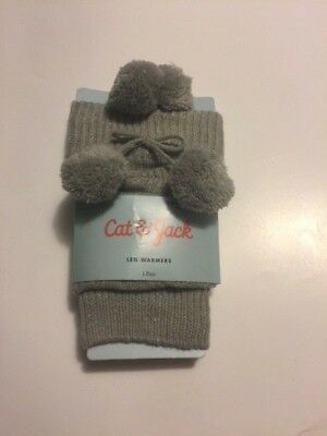 Cat & Jack Girl's Leg Warmers,Gray, One Size Fits Most