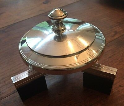 Beautiful Petrossian Paris Silver-Plated Caviar Server