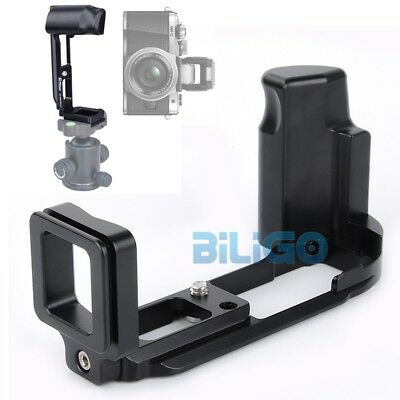 L-Bracket Vertical Quick Release Plate Holder Hand Grip For Olympus OMD E-M10 II