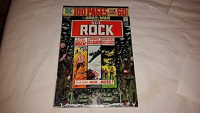 OUR ARMY at WAR 269 F+ Sgt Rock 100 Page GIANT classic DC Silver Age War Comic