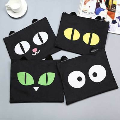 Cute Document File Organizer Bag Holder Folder Canvas Carrying Case for iPad New