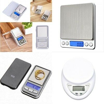 HighQuality Digital Gram Scale Jewelry Weight Electronic Balance Scale 500x0.01g