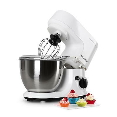 800W Stainless Steel 4L Food Processor Dough Mixer White * Free P&p Uk Offer