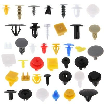 new 200 Pcs Car Door Panel Bumper Push Pin Rivet Retainer Trim Clips Fastener