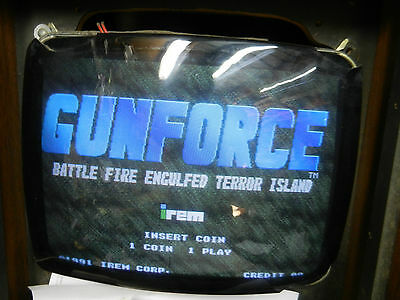 Irem GunForce Jamma game board arcade 1991  M92