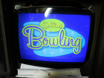 Konami The Simpsons Bowling Jamma game board arcade 1993