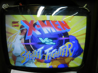 Capcom X-men vs Street Fighter Grey A&B  game board arcade