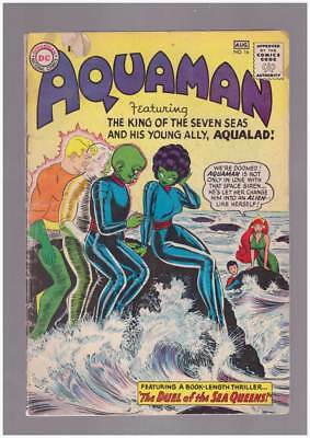 Aquaman # 16 The Duel of the Sea Queens ! grade 3.5 scarce book !!