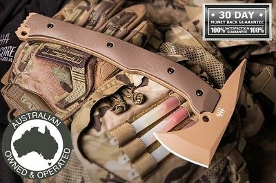 Hardcore Hardware Axe Tomahawk Tactical Survival Hunting Combat Quality LFT01DST
