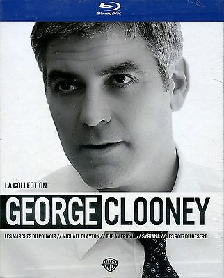 Georges Clooney Coffret 5 Blu Ray NEUF sous cellophane