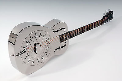 RESONATOR GUITAR JOHNSON JM-998 A1 Top Metal chest/cabinet without ENGRAVINGS /