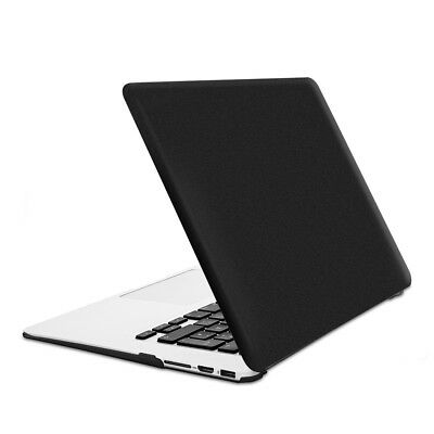 "Hard Case Für Apple Macbook Air 13"" (Ab Mitte 2011) Schwarz Metallic Cover"