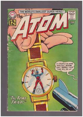 Atom # 3 The Time Trap ! Chronos origin grade 3.0 scarce book !!