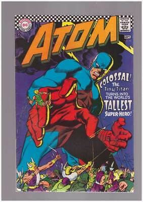 Atom # 32 The Up and Down Dooms of the Atom ! grade 7.5 scarce book !!