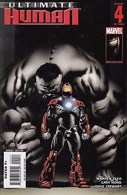 ULTIMATE HUMAN   4   ..VF/VF+- .....2008....IRON MAN/HULK!...Bargain!