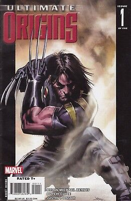ULTIMATE ORIGINS  1    ..VF/VF+- .....2008...WOLVERINE!...Bargain!