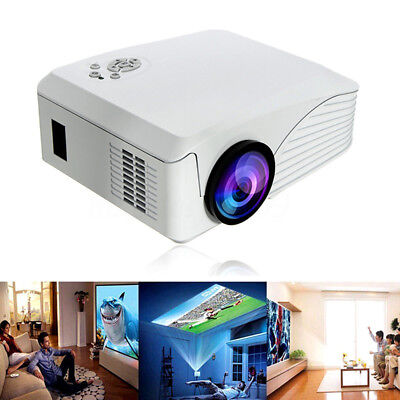 7000 Lumen 1080P native Multimedia Heimkino HDMI USB LCD-Display led projektor