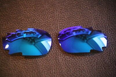 PolarLenz Ice Blue Replacement Lens for-Oakley Jawbone / Racing Jacket