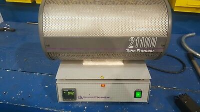 Barnstead Thermolyne 21100 Tube Furnace, Model F21125 Tested and Working
