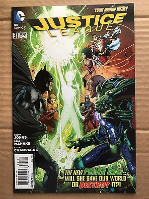 Justice League New 52 #31 Jessica Cruz Power Ring Appearance FREE SHIPPING