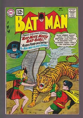 Batman # 144 The Alien Feud on Earth ! grade 4.0 scarce book !!