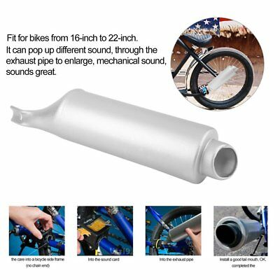 MotorBike Bicycle Bike Exhaust Pipe System Game Kids Play Child Nice Sound New