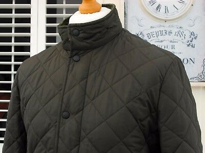 Barbour Olive Green Chesea Sportsquilt Jacket - S/M - Ska Mod Scooter Casuals