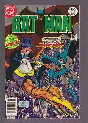 Batman # 287  The Penguin is Deadlier than Ever !  grade 9.0 scarce book !