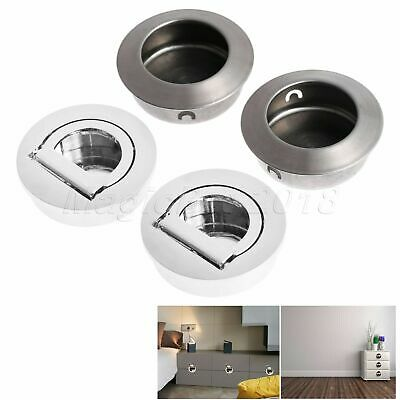 Minimalist Invisible Furniture Door Pull Handles Hidden Drawer Cabinet Knobs 2pc