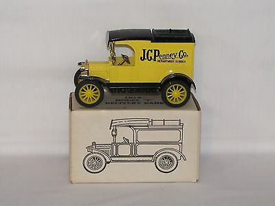 1913 Model T Van J.C. Penney #3 Bank Made In 1985 1/24th Scale Bank