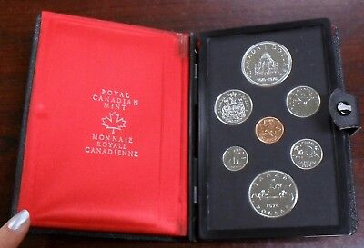 1976 Canada 7-Coin Double Dollar Proof Set