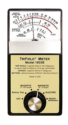 Trifield Meter 100Xe Electromagnetic Field Emf Detector Reliable - New In Box